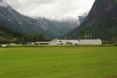 Норвежский музей ледника стоковое изображение rf