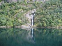 норвежский пейзаж Стоковая Фотография