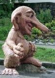норвежский troll Стоковые Фотографии RF
