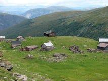 Норвежское hytte Стоковая Фотография RF