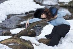 нордическая женщина Стоковое Изображение