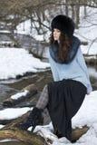 нордическая женщина Стоковые Изображения
