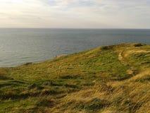 Нормандская скала стоковая фотография rf