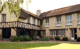 Нормандский дом в Франции Стоковые Фотографии RF