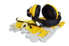 норма бесопасности строительного оборудования Стоковое фото RF