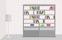 Нормальный книжного шкафа Стоковая Фотография