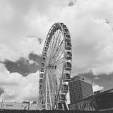 Норфолк, колесо неба VA стоковые фотографии rf