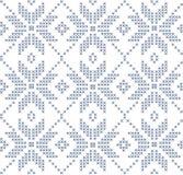 Нордическая безшовная картина Стоковое фото RF