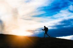 Нордический гулять Стоковые Изображения