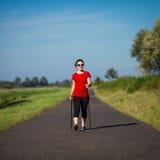 Нордический гулять Стоковое Изображение RF