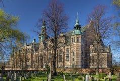 Нордический музей, Стокгольм стоковые изображения rf