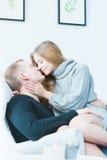 Нордический целовать пар Стоковые Фото