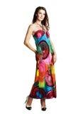 носить лета девушки платья Стоковое Изображение RF