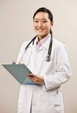 носить лаборатории доктора пальто уверенно Стоковое Изображение RF