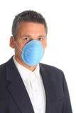 носить маски человека гриппа Стоковое Изображение RF