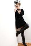 носить модели способа платья ателье мод Стоковое Изображение