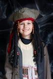 носить пирата costume мальчика маленький Стоковое фото RF