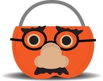 носить тыквы держателя disguise конфеты бесплатная иллюстрация