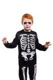 носить halloween costume ребенка Стоковые Изображения