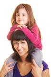 носить piggyback стоковые фотографии rf