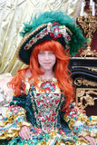 носить princess девушки платья Стоковые Изображения