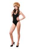 носить swimsuit повелительницы шерсти крышки сексуальный стоковые изображения