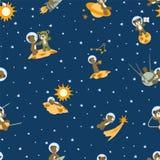 Носит космонавтов Стоковые Фотографии RF
