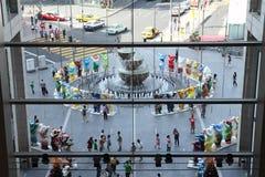 носит приятеля соединенное Куала Лумпур стоковое фото rf