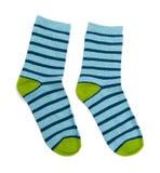 Носки изолированные на белизне стоковая фотография rf