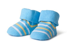 носки младенца Стоковое Фото