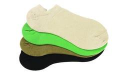 Носки лодыжки цвета Стоковые Изображения RF