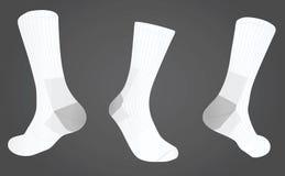 Носки передние и задний взгляд Стоковые Фото