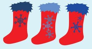 Носки рождества Стоковые Фото