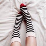 Носки с нашивками Стоковая Фотография
