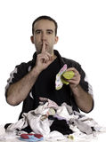 носки человека сопрягая смешанные Стоковые Фото