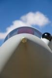 Носовой обтекатель реактивного истребителя Стоковое Фото
