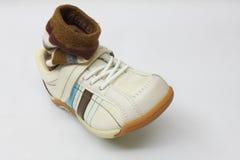 носок ботинка отдыха стоковые фото