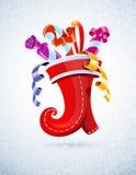 носок jpg рождества 26 готовый Стоковые Изображения RF