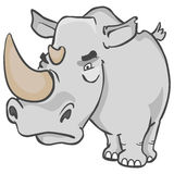 носорог Бесплатная Иллюстрация