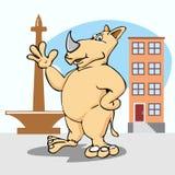 носорог Стоковые Изображения RF