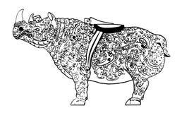 носорог Стоковая Фотография RF