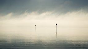 Ностальгический горизонт в Nudgee, Австралии Стоковые Изображения