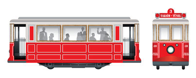 ностальгический трам Стоковое Фото