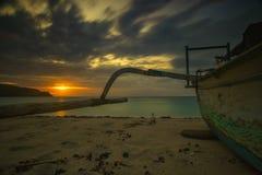 Ностальгия захода солнца стоковые фотографии rf