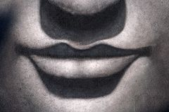 нос губ Будды стоковые изображения