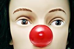 нос клоуна Стоковое Изображение RF
