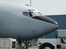 нос самолета Стоковые Изображения RF