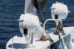 Нос яхты Стоковое Изображение RF