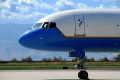 нос 757 Боинг Стоковая Фотография