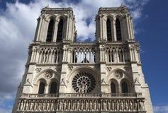 Нотре Даме, Париж, Франция Стоковые Изображения RF